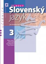 Nový slovenský jazyk pre stredné školy 3 – učebnica